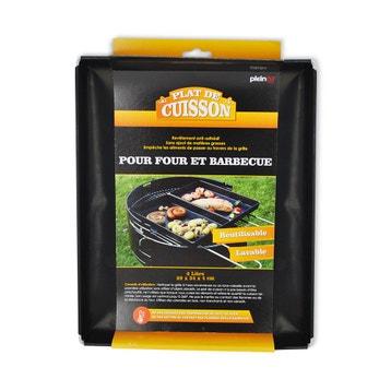 Plat De Cuisson Pour Barbecue Et Four 3l Noir Leroy Merlin