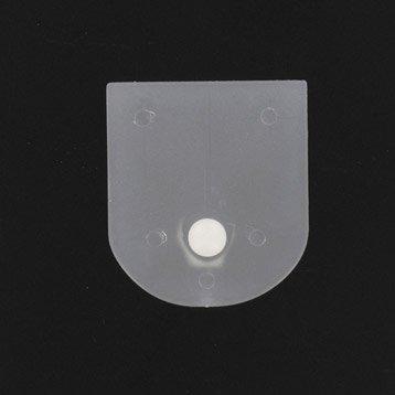 Accessoires de barre barres rideaux comopser leroy - Rideau plastique transparent ...